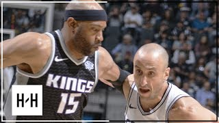 San Antonio Spurs Full Highlights vs Sacramento Kings   April 9, 2018   2017-18 NBA Season
