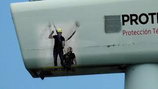 Wind turbine rescue with the Wind Escapettor & Pastto