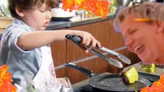 Masterchef Kids but with hells kitchen insults