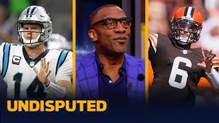 Should the Browns have taken Sam Darnold over Baker in 2018? — Skip & Shannon I NFL I UNDISPUTED