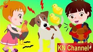 Hoạt hình KN Channel BÉ NA HÒA GIẢI HIỂU LẦM CỦA CHÓ VỊT VÀ GÀ   Hoạt hình Việt Nam