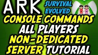 Ark non dedicated server console commands m