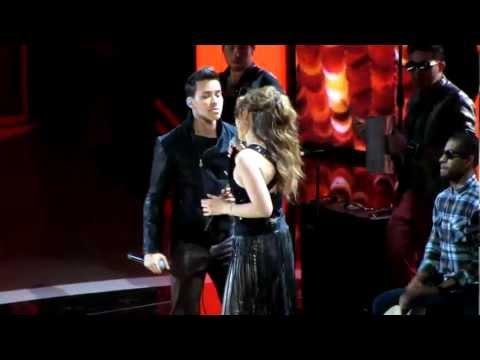 Thalia & Prince Royce - Te Perdiste Mi Amor (Premios Lo Nuestro 2013)