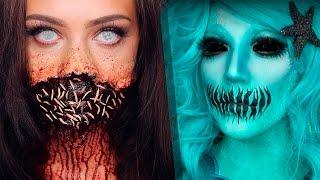 Top 13 DIY Halloween Makeup Tutorials Compilation 2017   part 2!