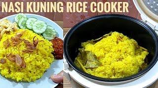 Resep nasi kuning rice cooker enak banget