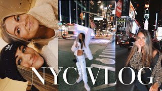 NYC VLOG pt. 1: traveling, time square, shopping