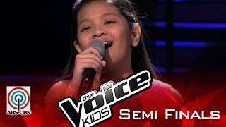 """The Voice Kids Philippines 2015 Semi Finals Performance: """"You'll Never Walk Alone"""" by Elha"""
