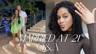I Am A WIFE! Married At 21 + Life Update Q&A 2021