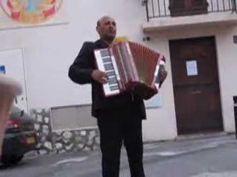 Accordion in Antibes, France