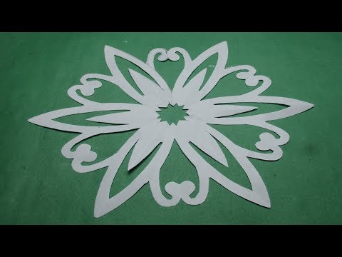How to make simple easy paper cutting flower designs diy how to make simple easy paper cutting flower designspaper flowersdiy instructions step by step mightylinksfo