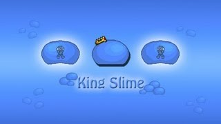 Terraria - how to summon slime king