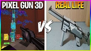 *INSANE* TOP 10 UNBELIEVABLE Pixel Gun 3D Guns In Real Life (NEW UPDATED WEAPONS!)