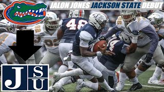 Jalon Jones Jackson State Debut Highlights vs Bethune Cookman 2019