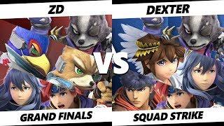 Smash Ultimate Tournament - ZD [L] Vs. Dexter - Launch 2 Squad Strike - Grand Finals