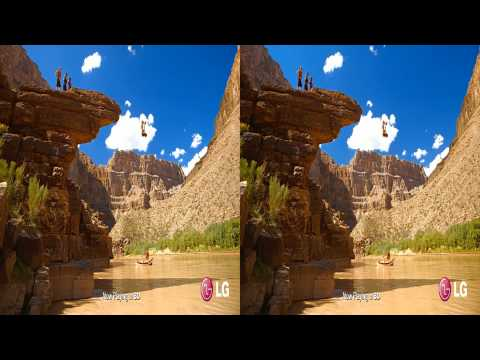 LG 3D Demo - Grand Canyon Adventure