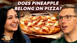 Does Pineapple Belong on Pizza?   A Hot Dog Is a Sandwich   Mythical Kitchen