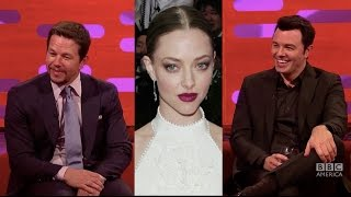 "Mark Wahlberg & Seth MacFarlane Call Amanda Seyfried ""Gollum Eyes"" - The Graham Norton Show"