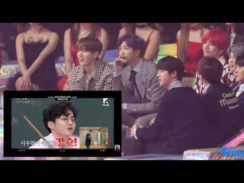 BTS REACTION TO NETIZEN CHOICE VCR [Melon Music Award 2018]