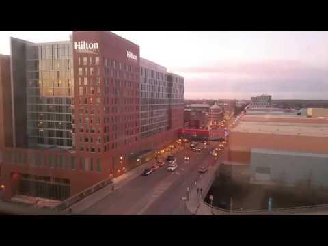 A Timelapse Video of Columbus Downtown Taken From Hyatt Regency Fifth Floor [Full HD]