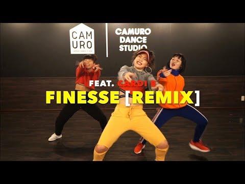 Finesse [Remix] feat  Cardi B - Bruno Mars Choreography by Yumeri Chikada at CAMURO dance studio