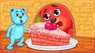 [Gummy]  My Lovely Bears - Baby Hide In the Burrow