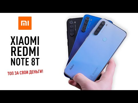 video Xiaomi Redmi Note 8T 4GB RAM 64GB ROM
