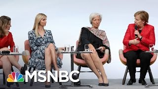 Ivanka Trump Gets Booed Defending Her Father's Record On Women | The 11th Hour | MSNBC