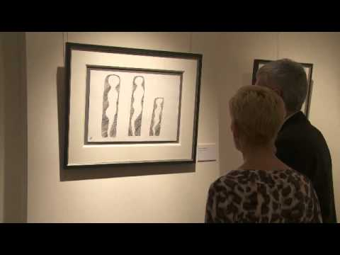 Comedian Billy Connolly Unveils Art Collection at the Halcyon Gallery