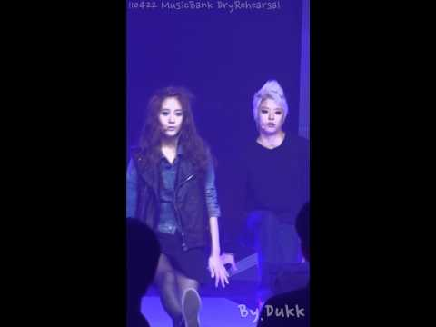 [Fancam] Amber Dry Rehearsal @ MBank Comeback Stage [110422]