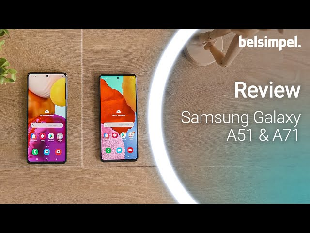 Belsimpel-productvideo voor de Samsung Galaxy A51 Black