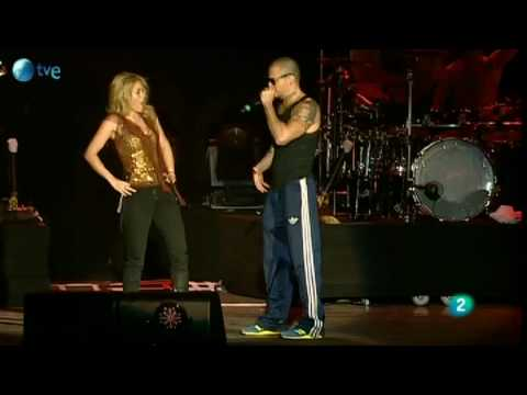Gordita - Shakira y René de Calle 13 - Rock in Rio Madrid 2010