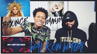 Eminem - Walk On Water (Audio) ft. Beyoncé   FVO REACTION