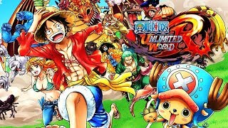 One Piece: Unlimited World Red – Full Movie / All Cutscenes + Boss Fights 【HD】