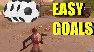 "How To ""Score A Goal On Different Pitches"" All Soccer Pitch Locations Fortnite (Week 7 Challenges) - YouTube"