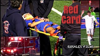 Player Rushed to the Hospital - Crawford vs Coronado High Boys Soccer