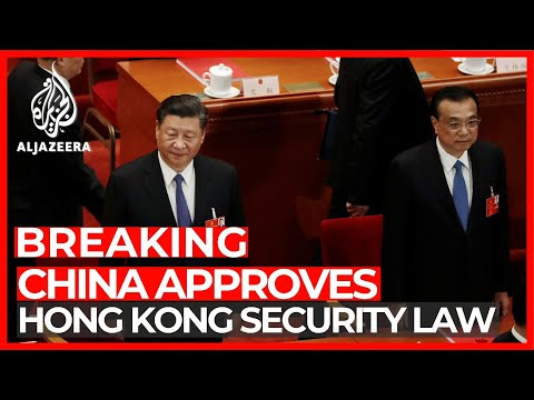 China's parliament passes Hong Kong national security law
