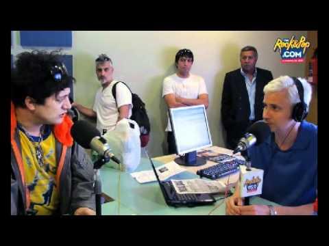 Pity Alvarez saca un arma en el programa de Juan Di Natale