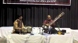 SAPTARSHI HAZRA - Senia Sitar --Jaunpuri Alap Part 1
