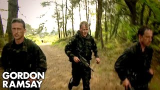 Training and Cooking with the Royal Marines - Gordon Ramsay