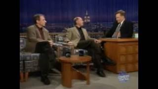 Harry Shearer & Dan Castellaneta bei Conan O'Brien