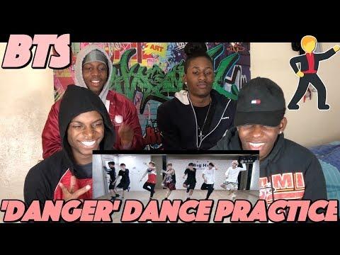 방탄소년단 'Danger' dance practice - REACTION