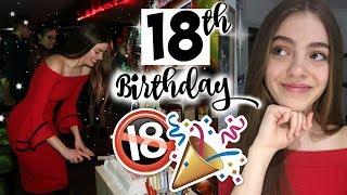 My Cheeky Lil 18th Birthday Party Vlog 2018. 🎉 best birthday of my life x