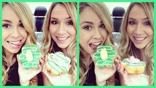 TASTE TEST - Dunkin' Donuts Peeps Donut!