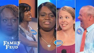 Seriously Hilarious Family Feud Moments | Family Feud