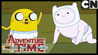 Adventure Time | Baby Finn and Jake | The First Investigation | Cartoon Network