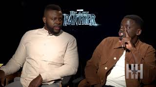 'Black Panther' Cast Reveals The Blackest Things They Did Off Set