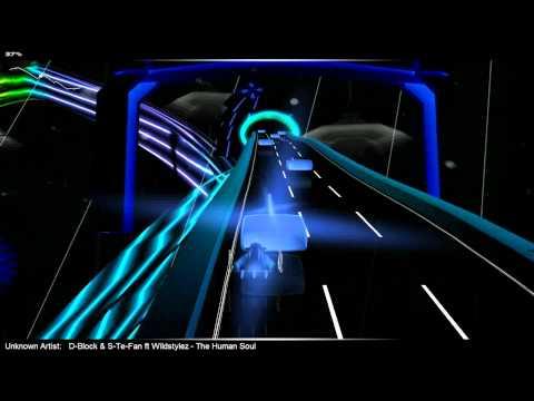 D-Block & S-Te-Fan ft Wildstylez - The Human Soul Audiosurf freeride