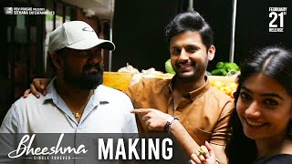 Bheeshma Movie Making- Nithiin, Rashmika..
