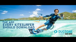 Learn Kitesurfing tricks with the new Duotone Academy App
