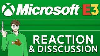 Microsoft/Xbox Press Conference (E3 2018) Livestream + Reaction/Disscussion